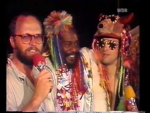 George Clinton and Red Hot Chili Peppers Interview - 1985