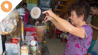 Drinking Ca Phe Vot in Vietnam - Christina's Street Feast - #6