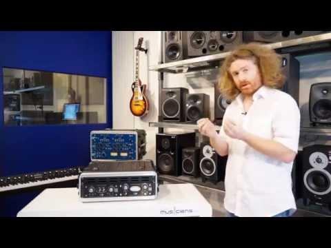 AVALON U5 + AVALON V5 - préampli micro @ Home Studio