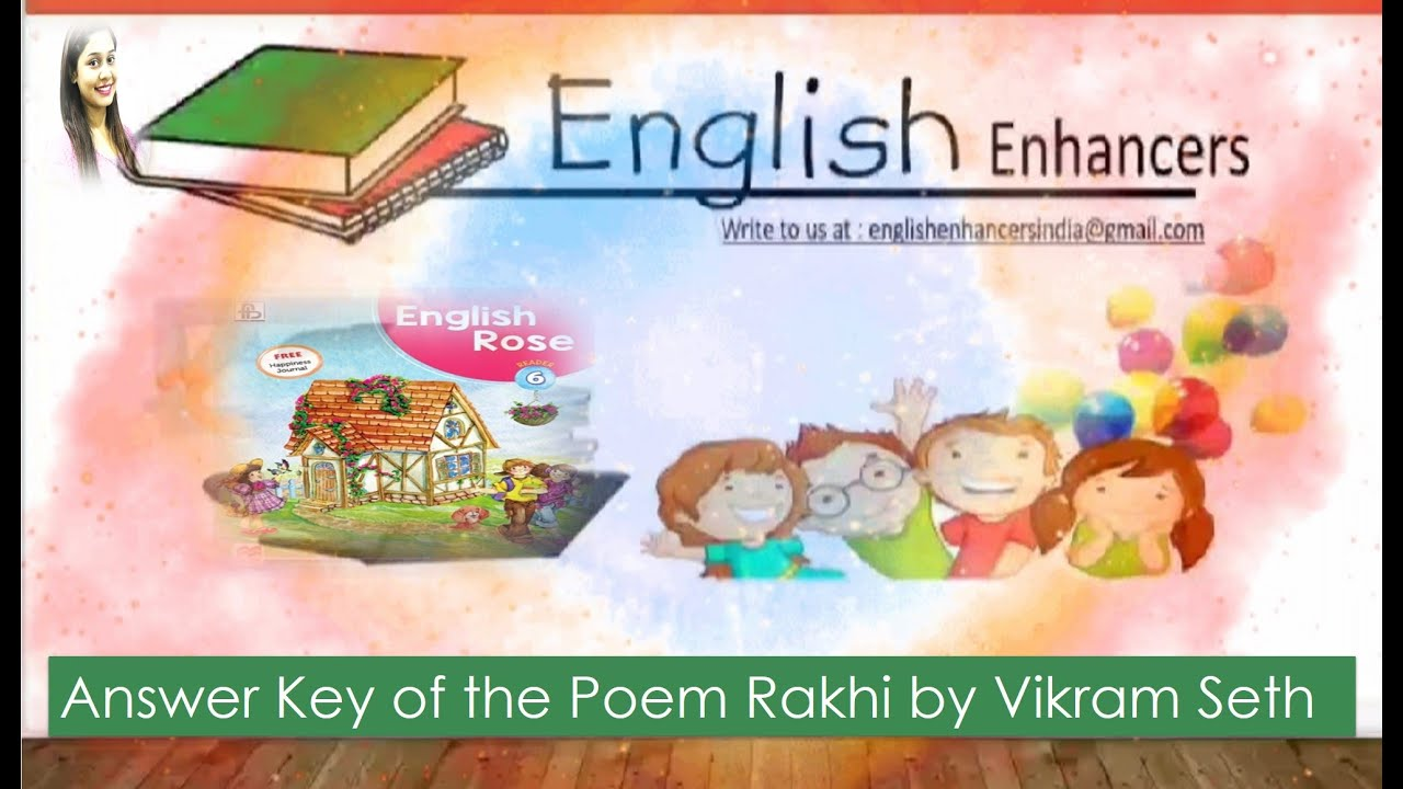 Class 6 | Answer Key of the Poem Rakhi by Vikram Seth ...