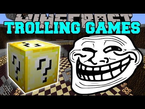 Minecraft: BUGS TROLLING GAMES - Lucky Block Mod - Modded Mini-Game