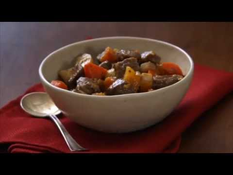 A Healthier Take: Hearty Beef Stew With Roasted Winter Vegetables