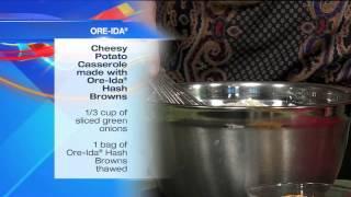 Cheesy Potato Casserole Made With Ore-ida® Hash Browns
