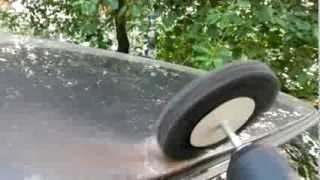 Локальный ремонт очага коррозии на крыше(Зачистка, создание гальванического покрытия( цинкование кузова), локальная покраска ,абразивная полировка., 2013-09-24T13:12:22.000Z)