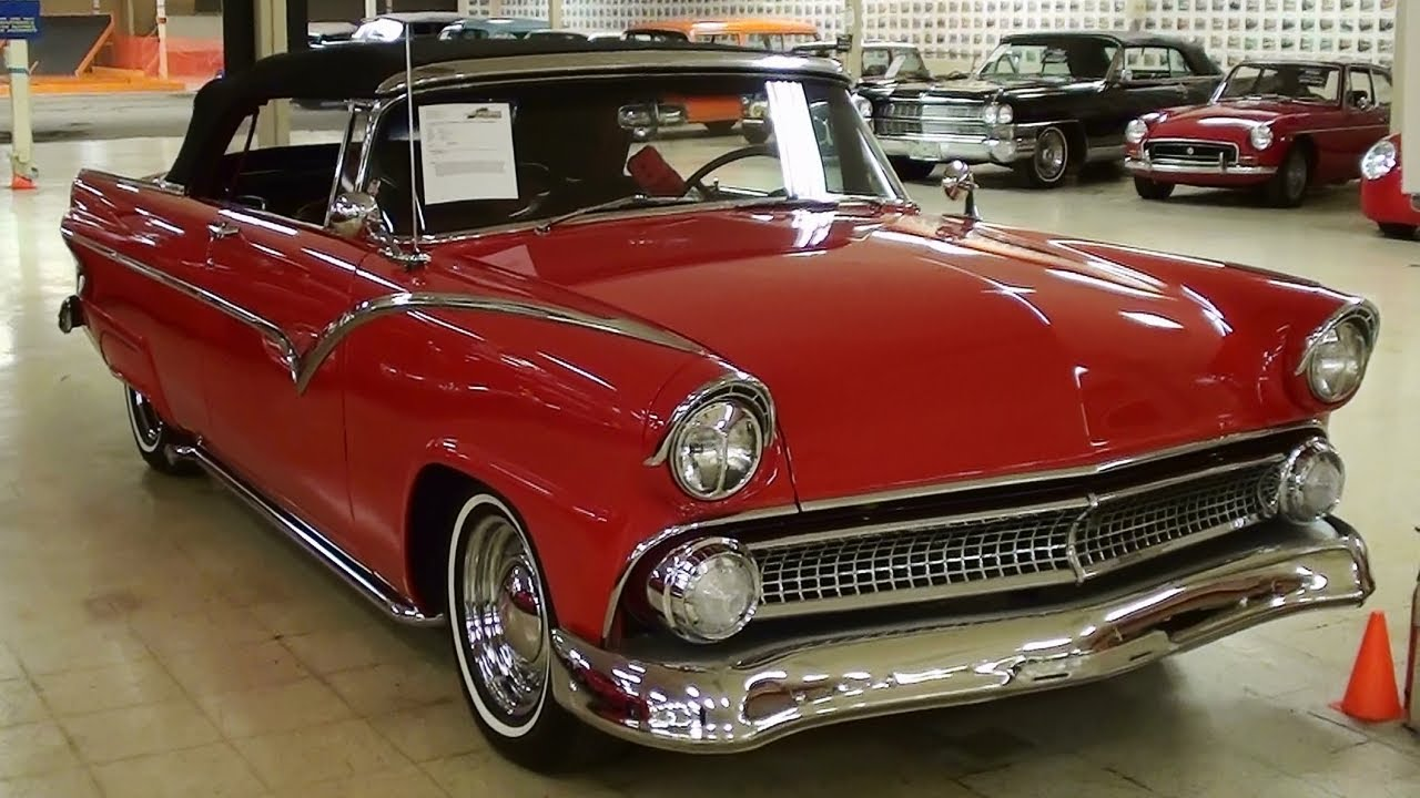 1955 Ford Fairlane Sunliner Convertible 292 Y-block V8