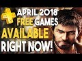 FREE PS Plus PS4 Games DOWNLOADABLE NOW! BIG FREE To PLAY MMO Out Now on PS4!