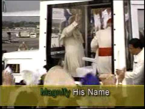 Tell The World Of His Love - Karaoke (gospel song)