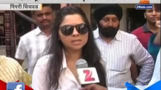 Pimpri Chinchwad Sonali Kulkarni 121 On Voting