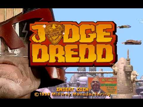 Arcade Longplay [675] Judge Dredd (Prototype)