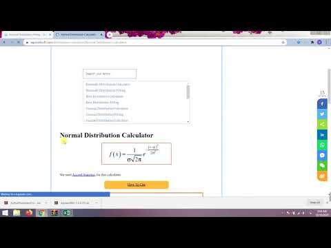 Normal Distribution Probability Formula - Calculator