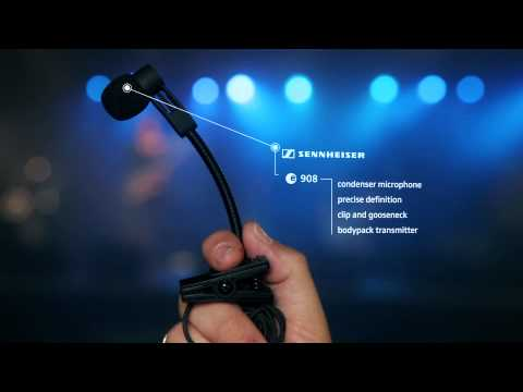 Sennheiser e 908 - Brass and Drums Condenser Microphone - Studio, Live Recording
