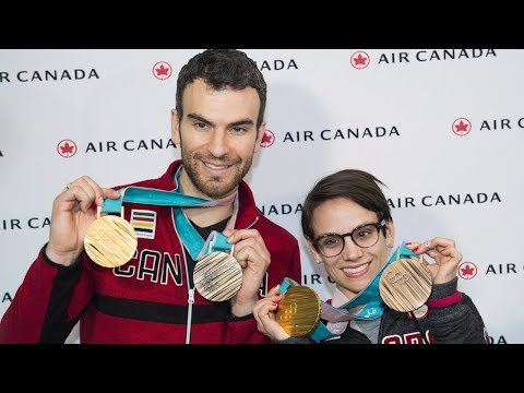 Returning Canadian Olympic medallists look forward to sleep