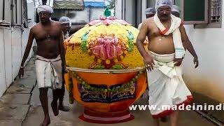 Huge Size 500Kg's Laddu Making for Ganesh Chatruti  #Unbelievable Food Making