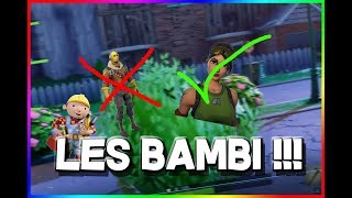 The bambi goes into Carpenter mode but its goes very badly !!!!! Fortnite