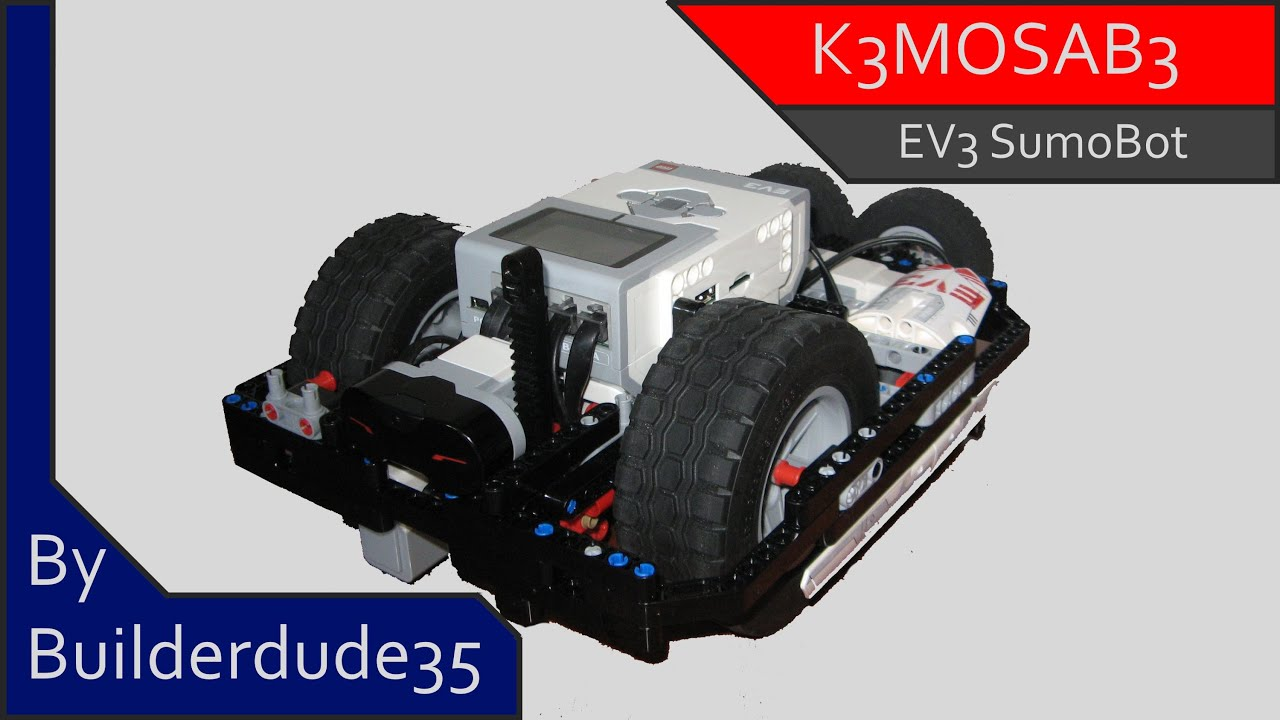 K3MOSAB3, a Sumo Robot - MINDSTORMS EV3 Creations - YouTube