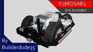 K3MOSAB3, a Sumo Robot - MINDSTORMS EV3 Creations