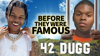 42 Dugg | Before They Were Famous | 25 Year old Rapper Served 6 Years Already