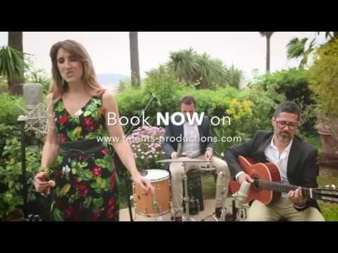 Brazilian music cocktail band on the French Riviera