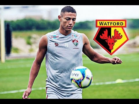 Richarlison de Andrade • Welcome to Watford • Goals   Skills • Fluminense FC 01df87fdb7beb