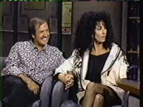 SONNY AND CHER (pt 1) on David Letterman 1980's  late night