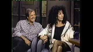 SONNY AND CHER (pt 1) on David Letterman 1980
