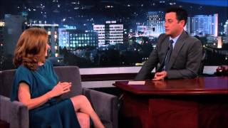 Amy Adams Discusses Man of Steel 2 Script on Jimmy Kimmel 1/7/14 Batman vs Superman!