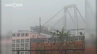 В Италии рухнул мост – погибли десятки человек