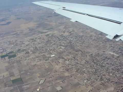 Flug über Mexico-City 2