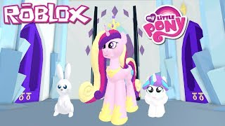 Baby Flurry Heart! Roblox: My Little Pony 3D: Roleplay is Magic