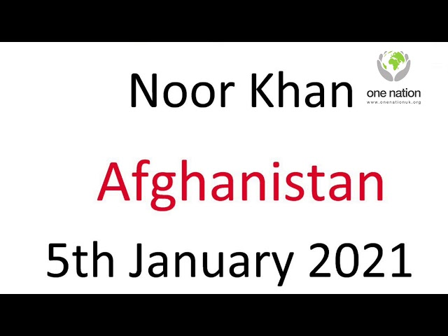 Wedding Favours Afghanistan- Noor Khan - 8th January 2021