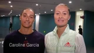 WTA Frame Challenge | Kristina Mladenovic and Caroline Garcia