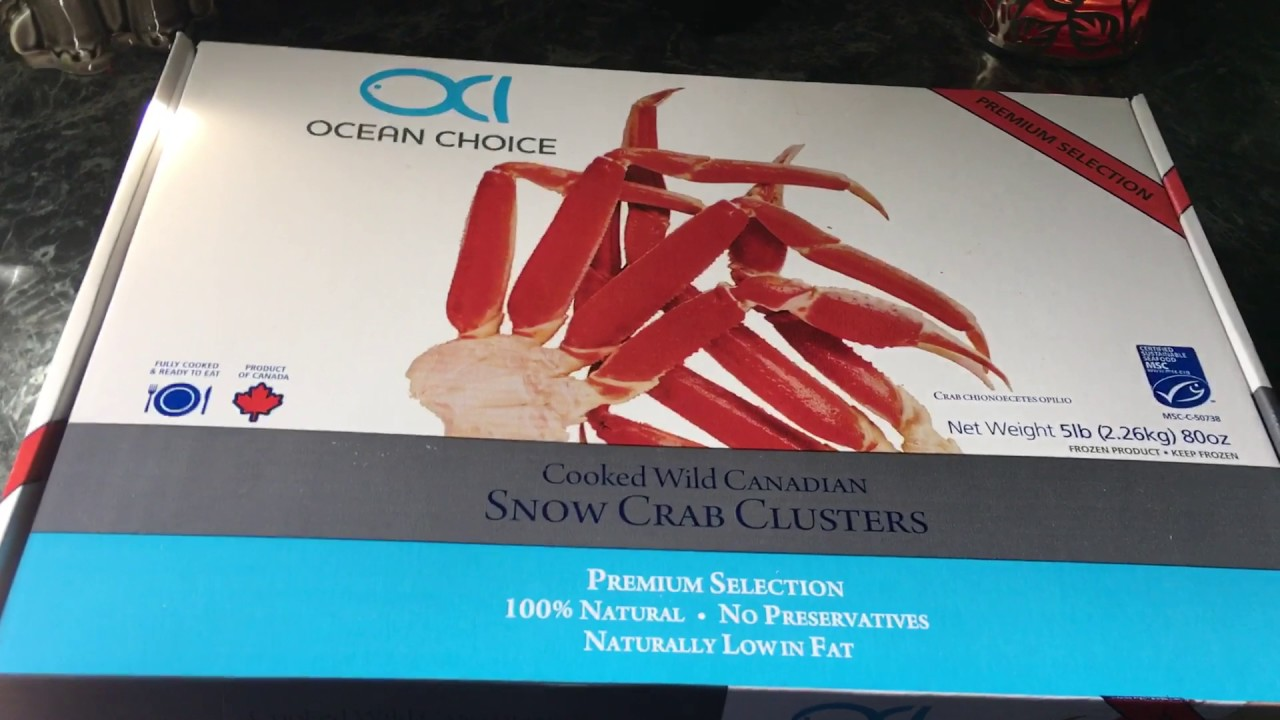 Snow Crab Clusters 🦀 Canadian 🦀 Review