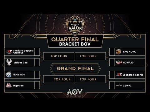 Bov Quarter Final Garena Aov Indonesia