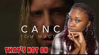 Tom MacDonald - Cancer || Reaction || we are not ok