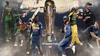 ICC Champions Trophy 2017 Point Table, Team Standings, Net Run Rate