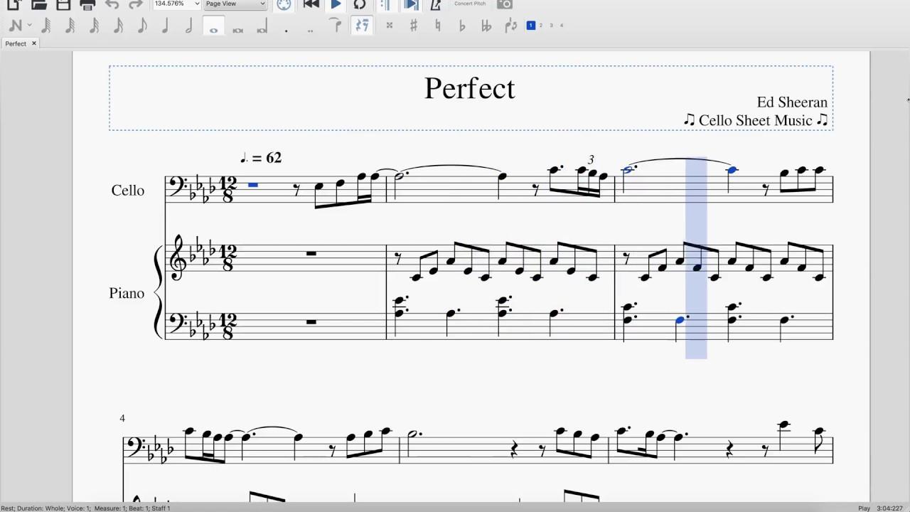 piano guys perfect sheet music pdf