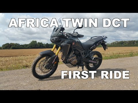 I Ride The Honda Africa Twin DCT For The First Time Review