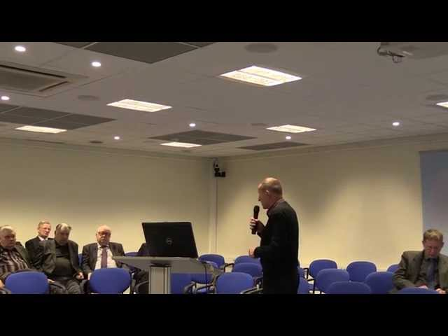 Põlevkivi konverents 1 osa - Põlevkivi jätkusuutlik kasutamine