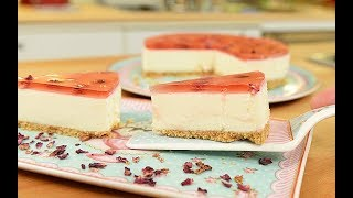 Pişmeyen Çiçekli Cheesecake - Semen Öner - Yemek Tarifleri
