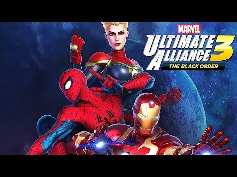 MARVEL ULTIMATE ALLIANCE 3 All Cutscenes (Game Movie) 1080p HD