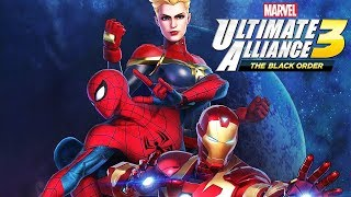 MARVEL ULTIMATE ALLIANCE 3 All Cutscenes (Game Movie) 1080p HD