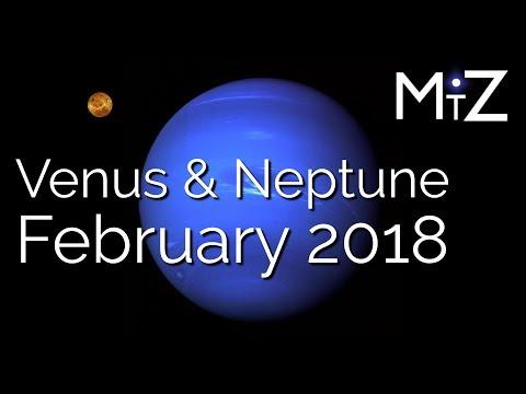 Venus Conjunct Neptune Wednesday February 21st, 2018 - True Sidereal Astrology