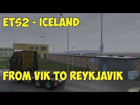 ETS2 - Promods Iceland - Vik to Reykjavik