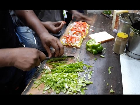 INDIA'S FASTEST Sandwich Man | Cheese Chilly Sandwich | Indian Street Food