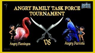 Boom Beach - ANGRY FAMLY TF TOURNAMENT! LIVE! Angry Parrots vs Angry Flamingos - Hosted By: DP!!!