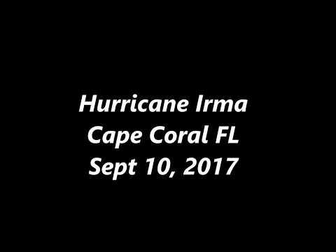 HURRICANE IRMA   CAPE CORAL FLORIDA