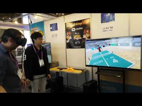 Ping Pong Kings VR at AD Stars 2016 #2
