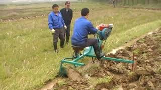 MIni Paddy Field Rice Weeder/farm cultivator/rotary power tiller agricul tural