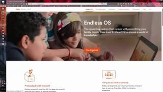 Установка Endless OS