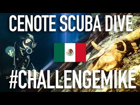 MEXICO: SCUBADIVING CENOTE NAH YAH